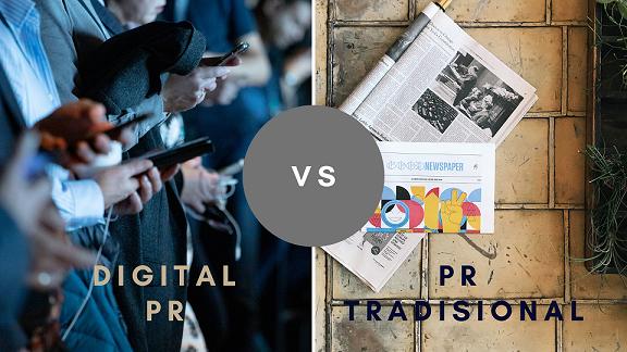 Tradisional PR vs Digital PR