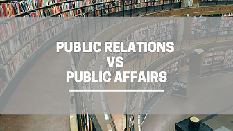 Public Relations dan Public Affairs